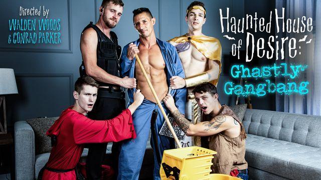 Haunted House of Desire:  Gastly Gang-bang